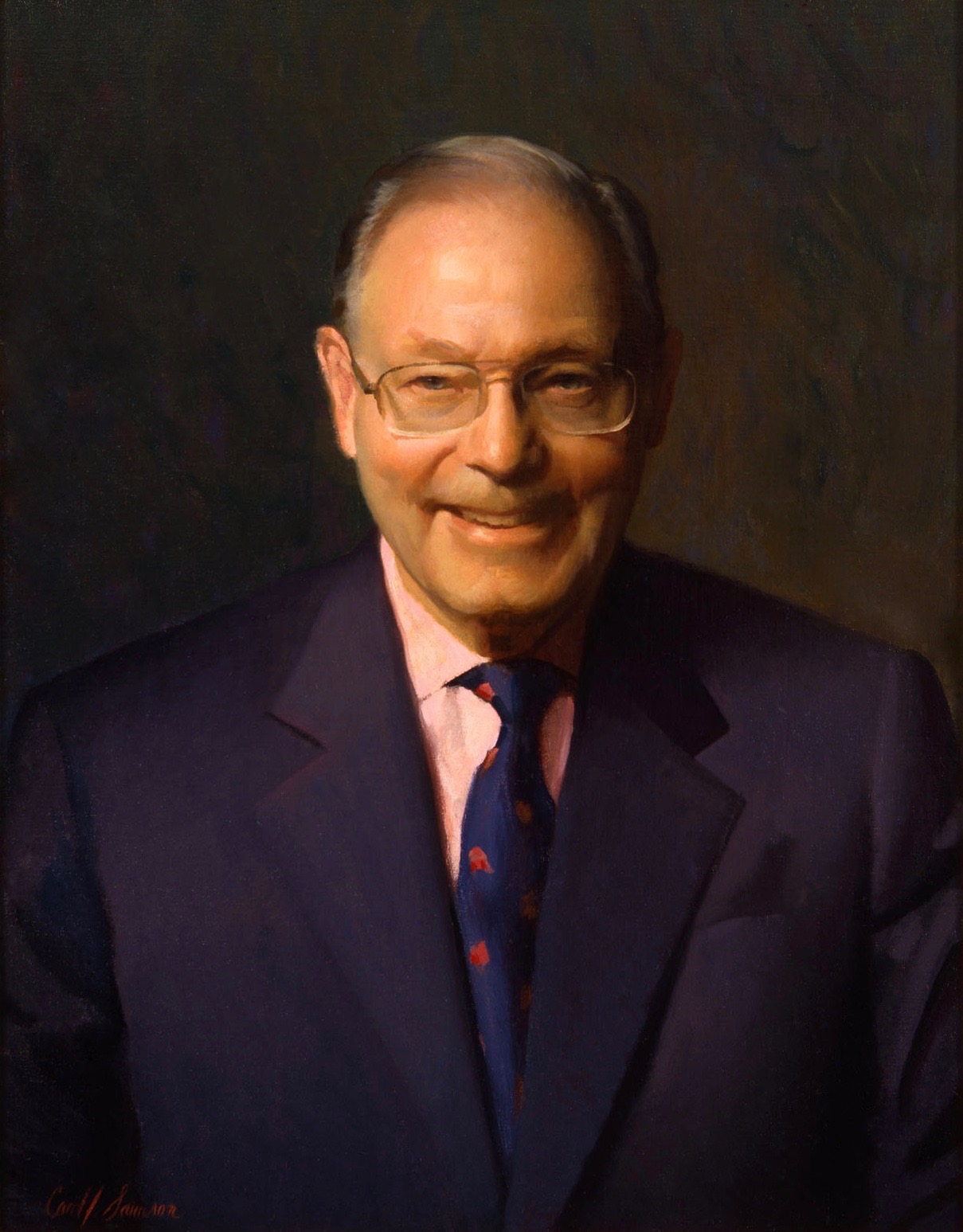 Oil Portrait, CEO and Board Chair