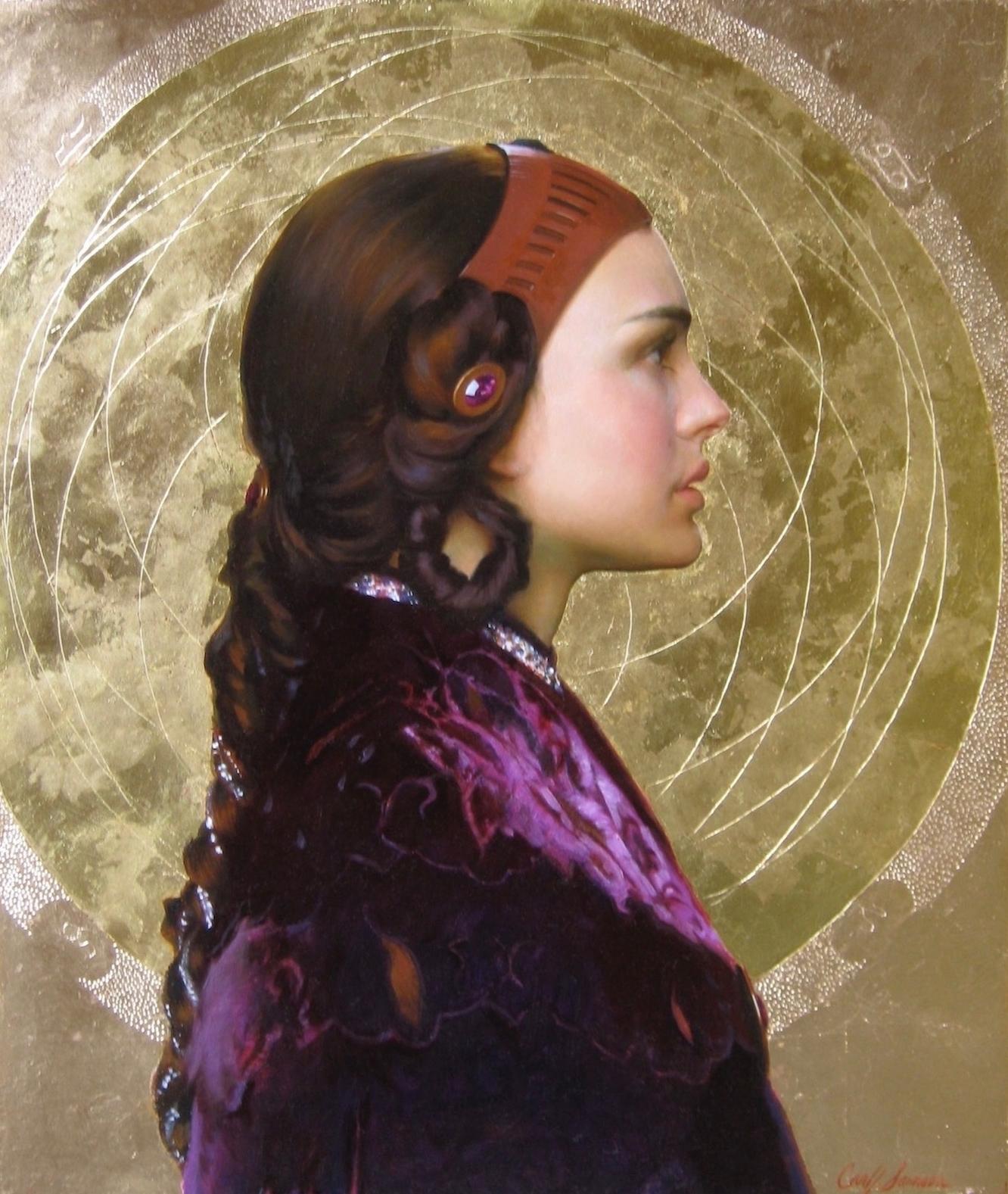 Oil Portrait, Actress