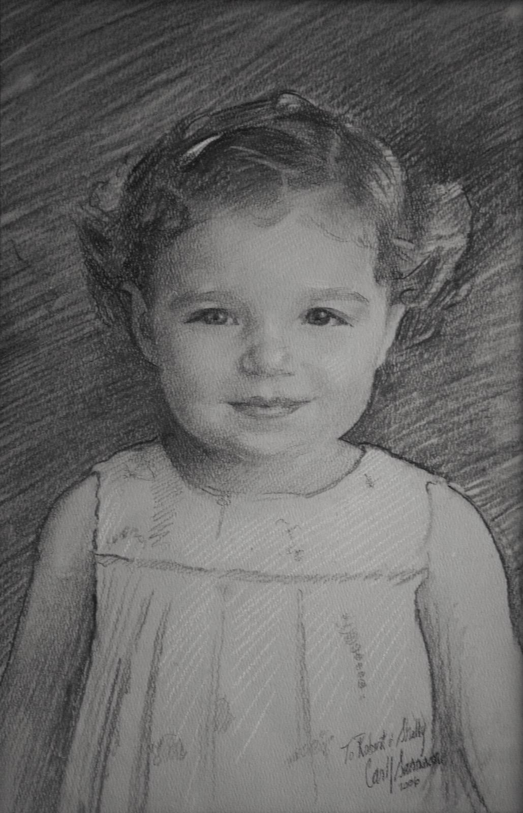 Charcoal Portrait, Hadley