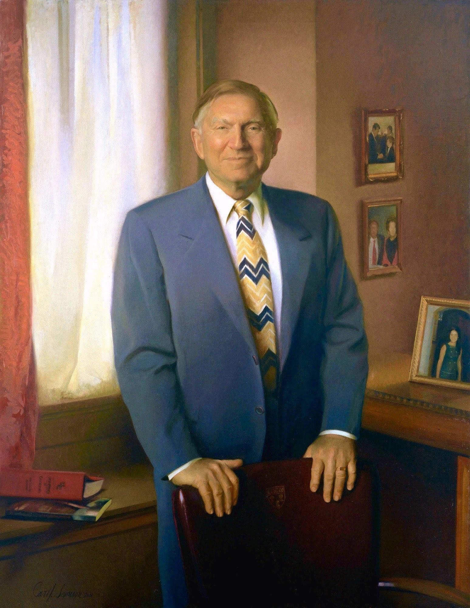 Oil Portrait, Diplomat, CEO, Civic Leader