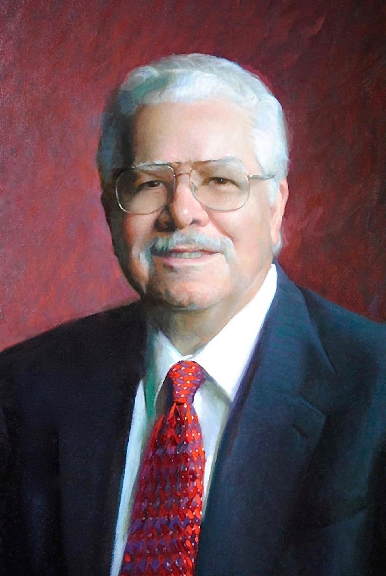Oil Portrait, College Dean