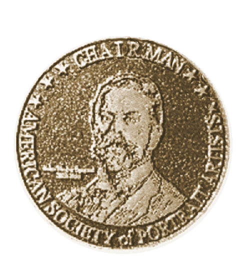 Chairman Portrait Artist Society Medal