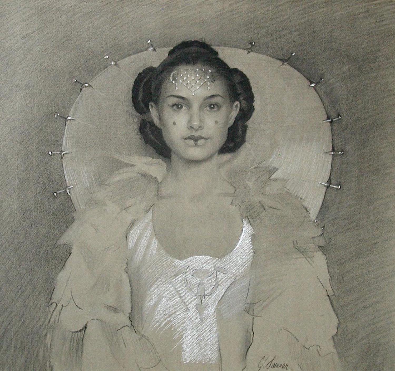 Charcoal & Chalk portrait