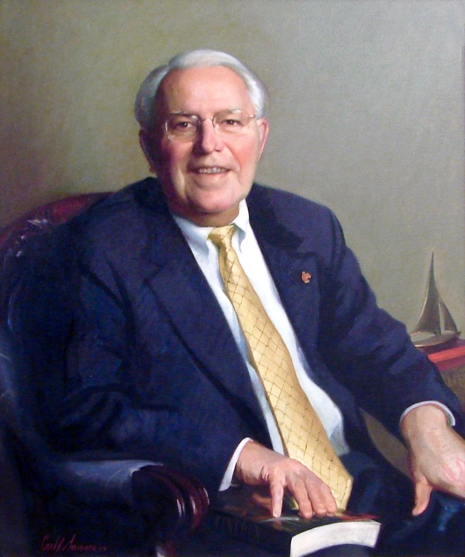 Oil Portrait, University President