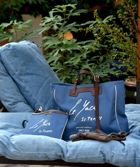 A special edition bag for exquisite hotel in Saint-Tropez Le Yaca