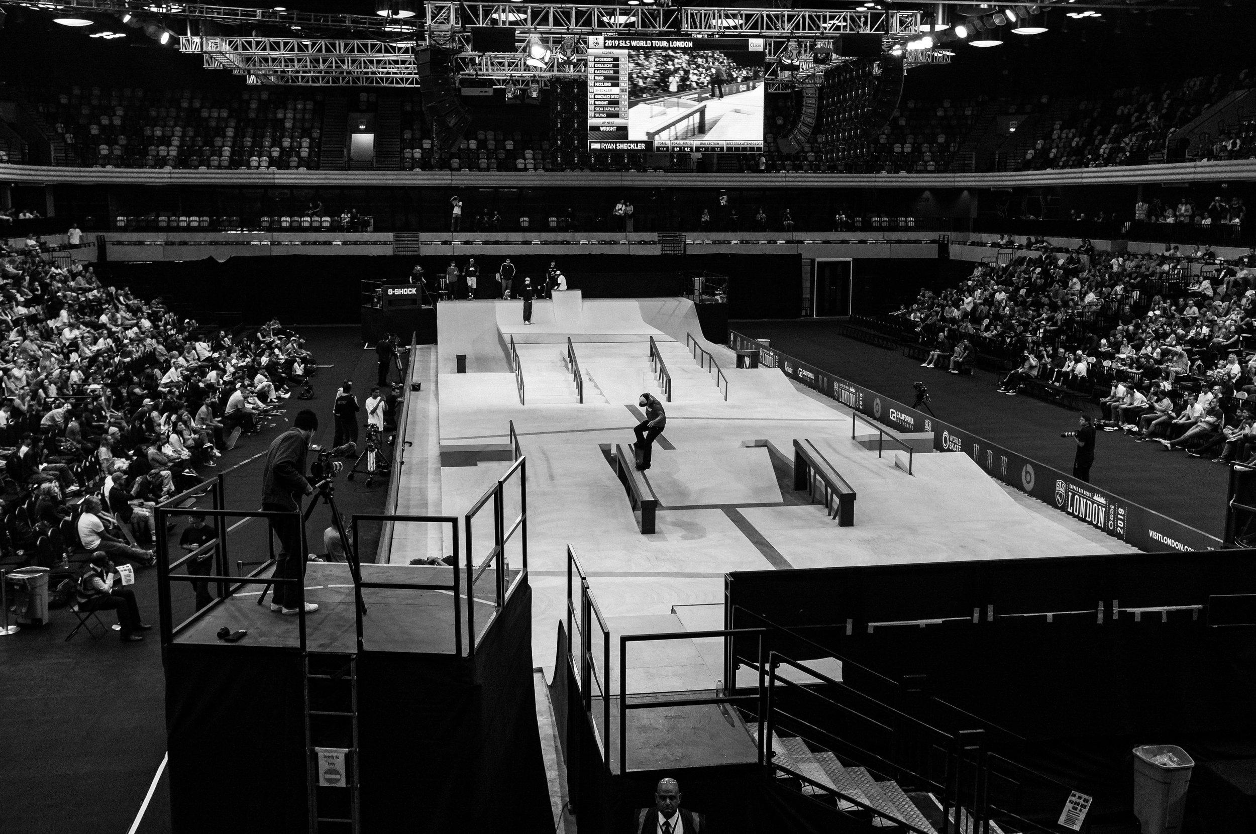 Skateboard Course SLS London