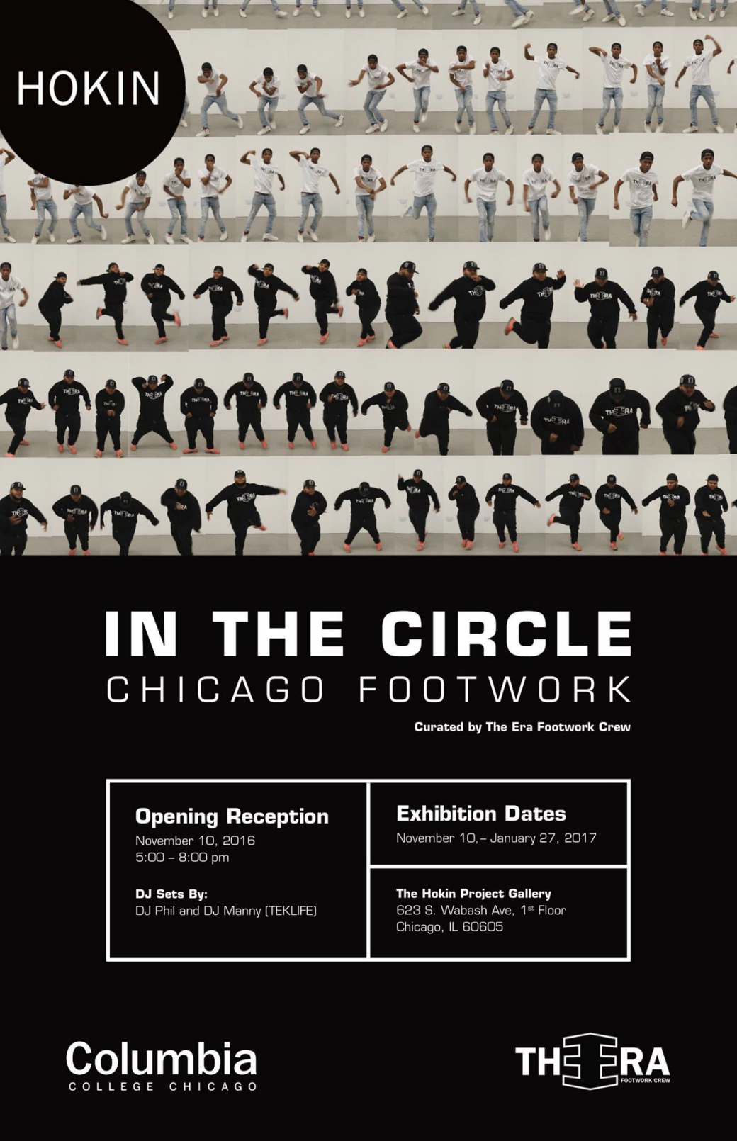 Art exhibition curated by The Era Footwork Crew