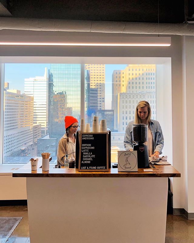 We took our espresso to new heights today 🚀 Thanks for having us @lev_digital and @jll!