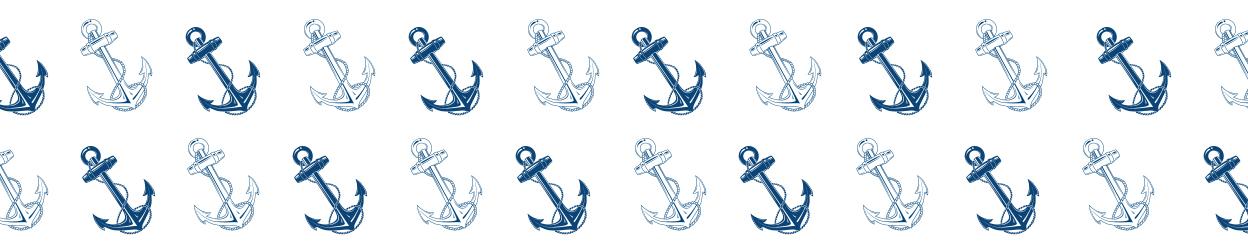 nautical anchor pattern