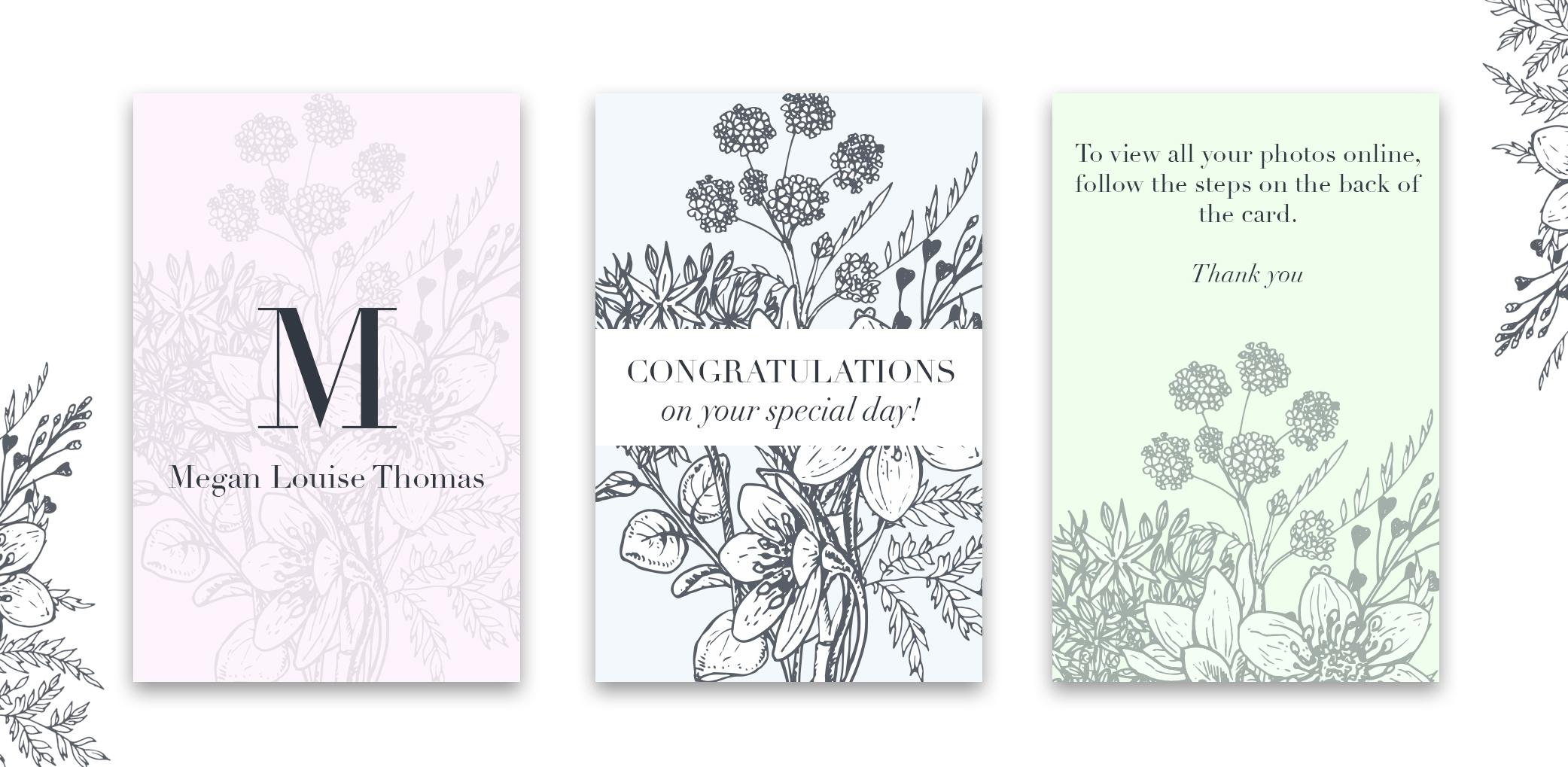 wedding information floral design
