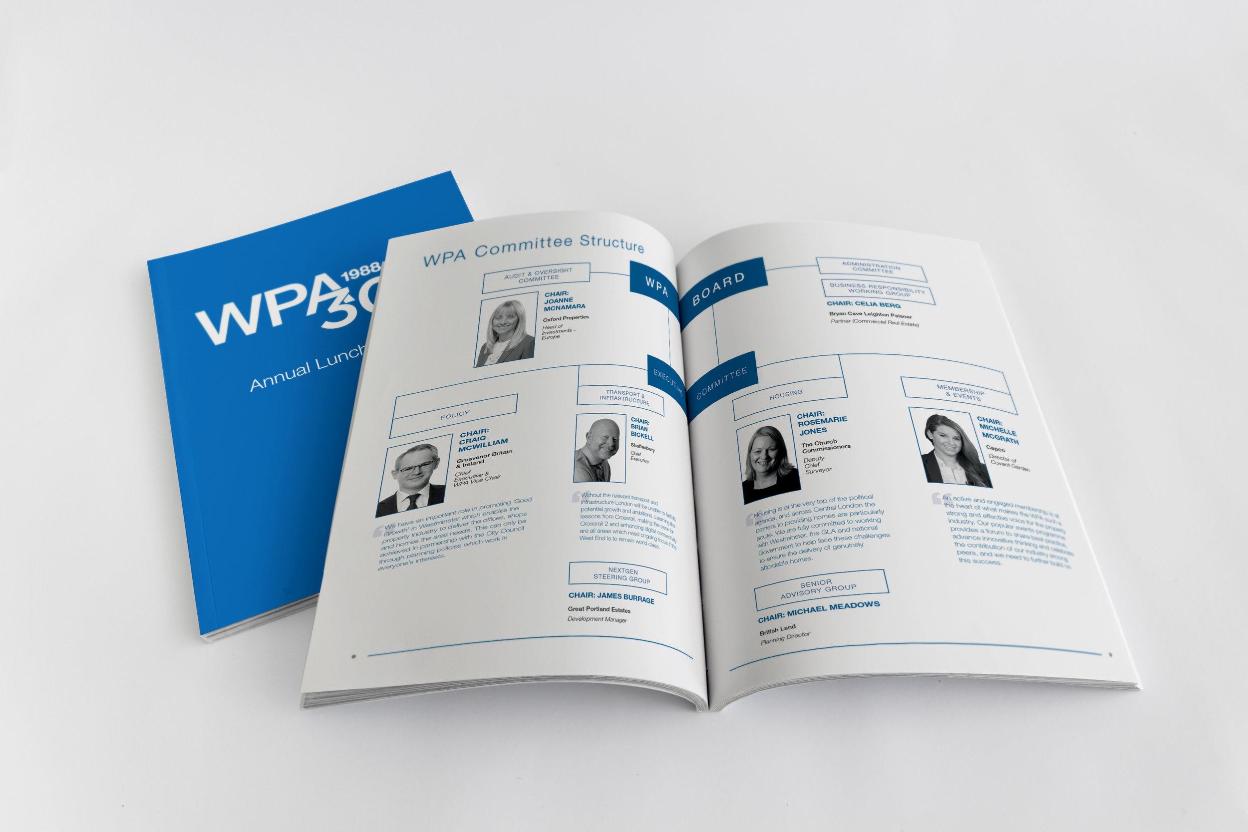 WPA Annual Lunch 2018 Brochure Insert Graph