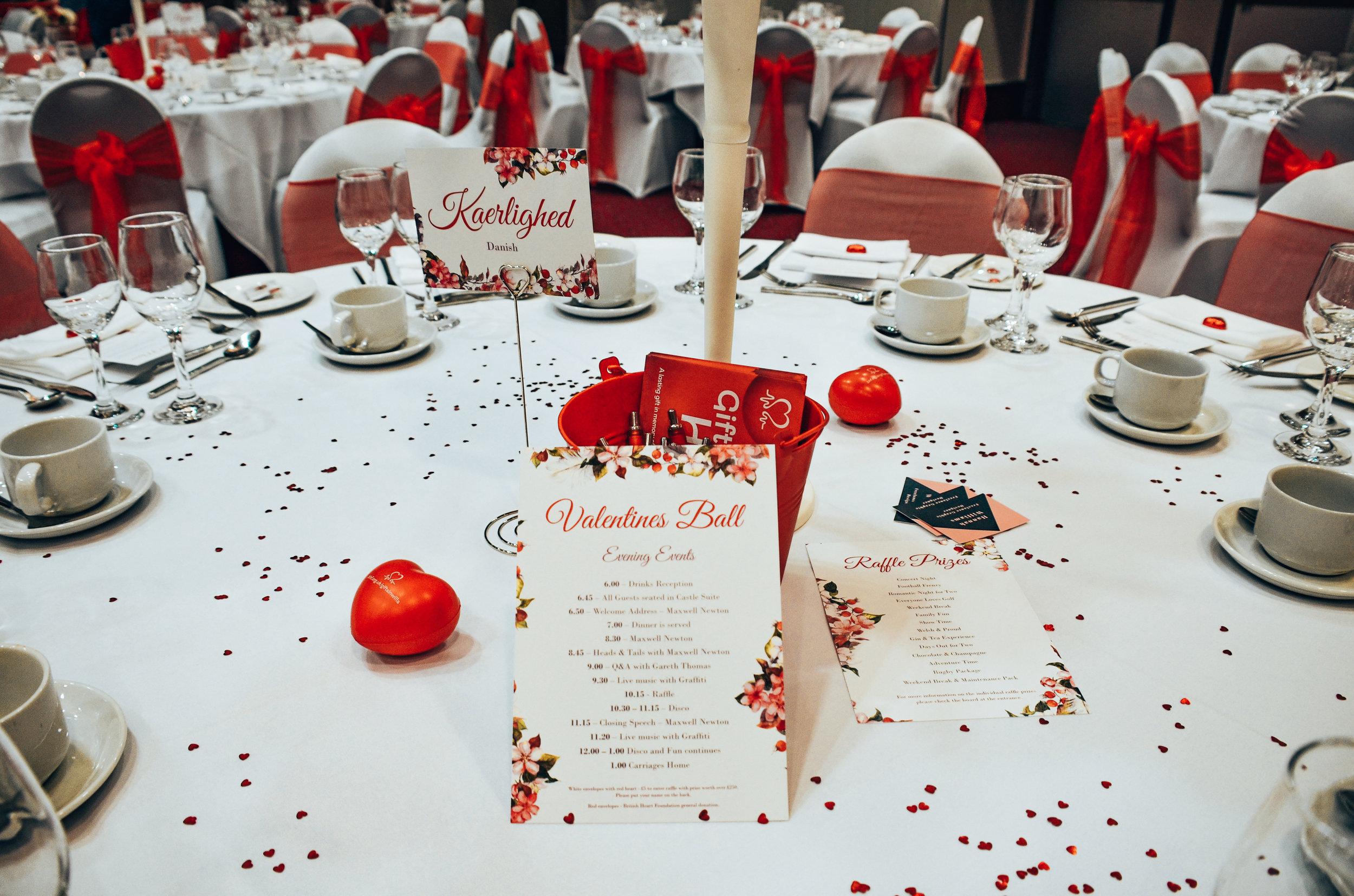 British Heart Foundation Event Designs