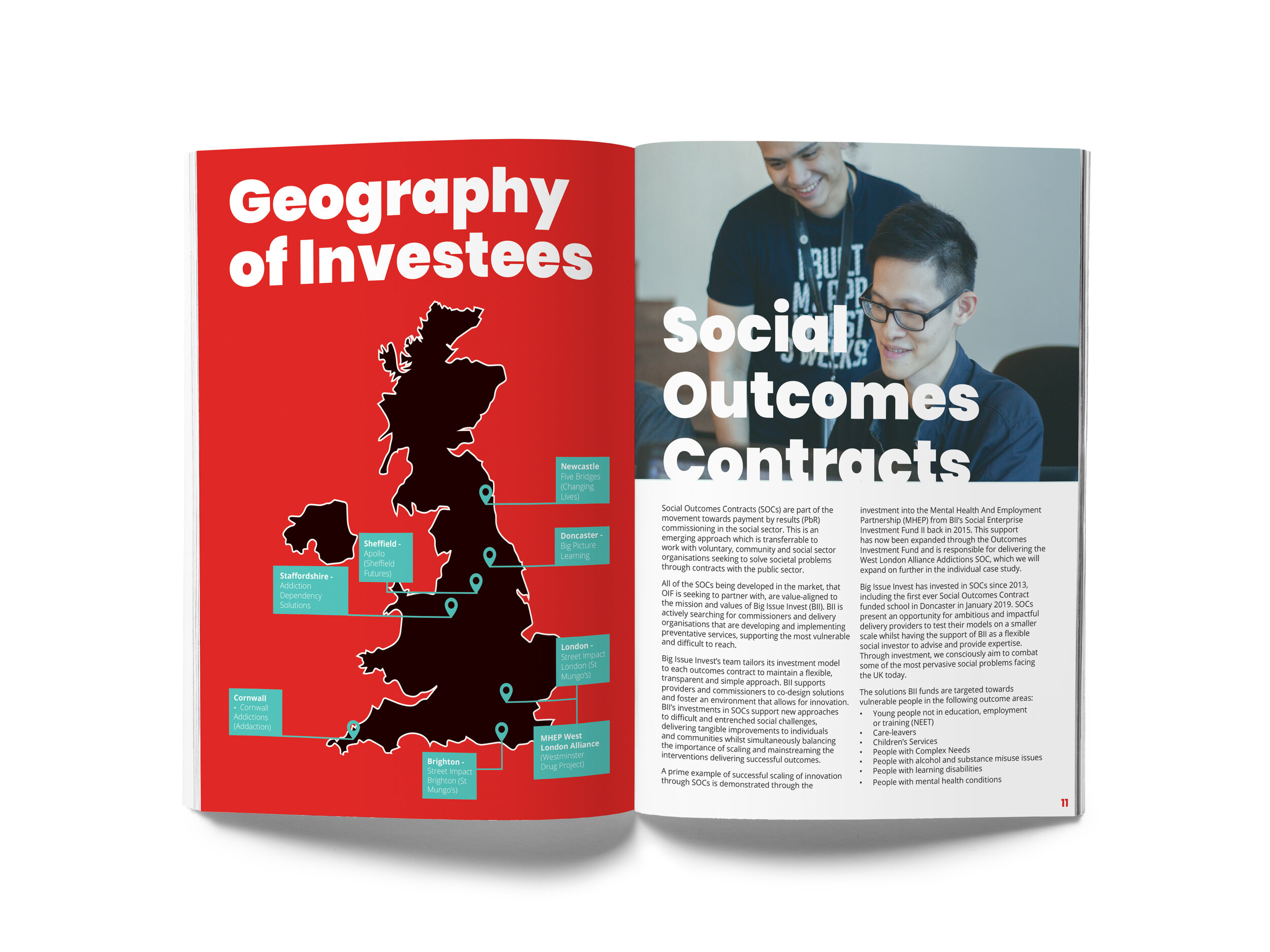 The Big Issue Invest Annual Report