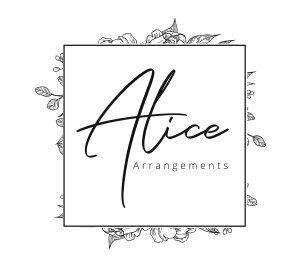 Flower company brand logo
