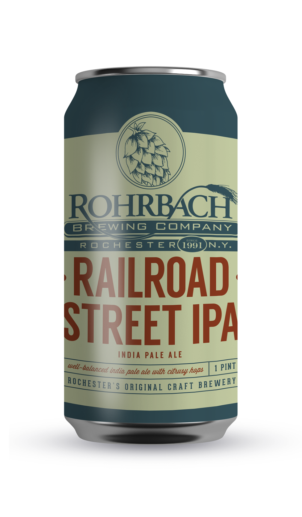 RAILROAD STREET IPA  Named after our brewery's location at the Public Market, Railroad St. IPA is over session India Pale Ale with an overload of citrusy hops.  ABV 6.5% | IBU 66 | SRM 11