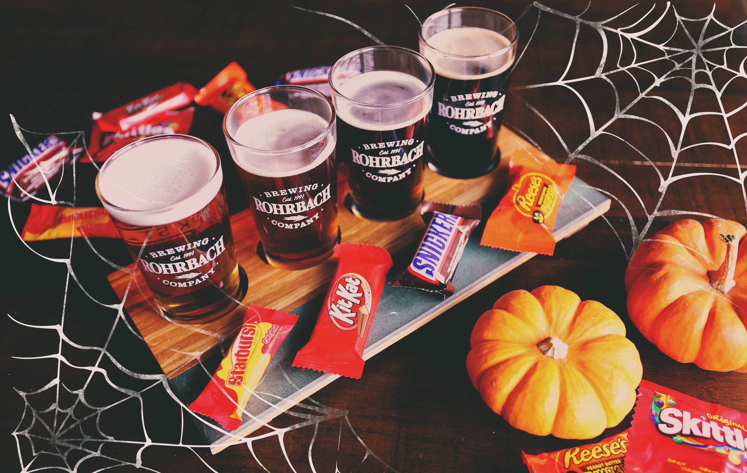 Halloween Candy Flight