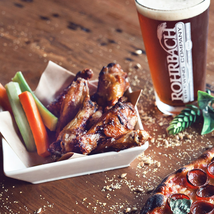 rohrbachs-brewery-beer-hall-chicken-wings-and-beer.jpg