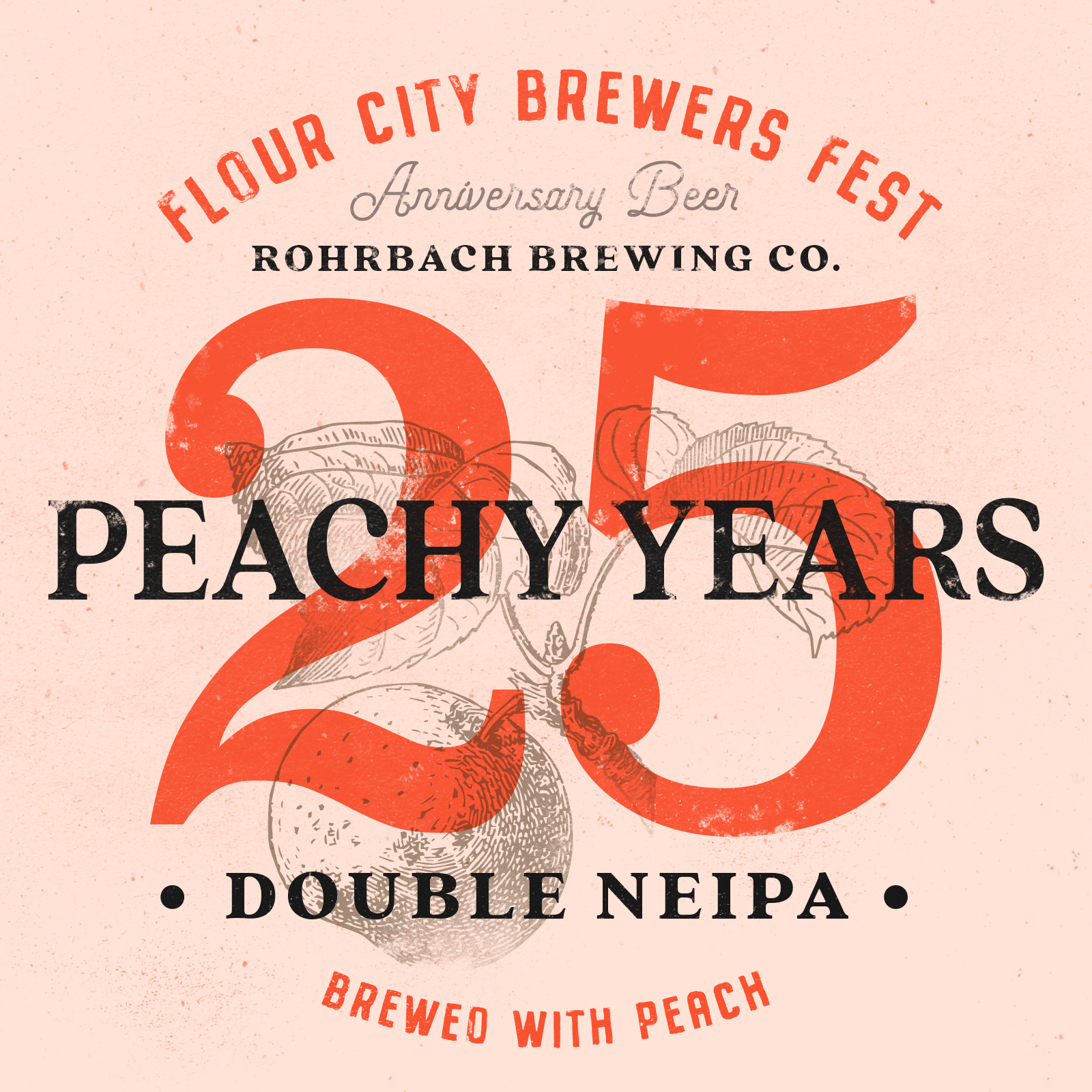 25 Peachy Years NEIPA