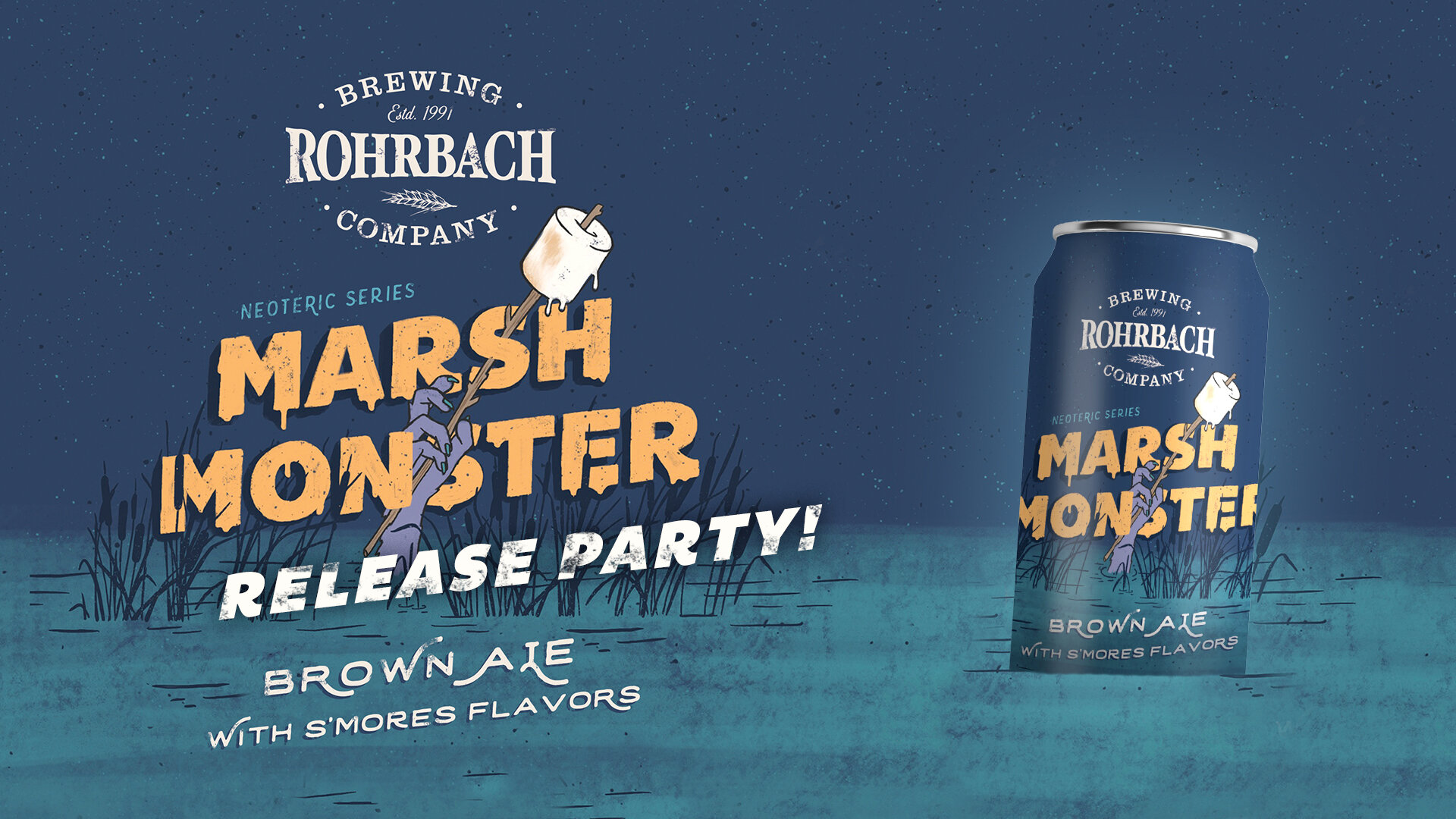 Marsh Monster Release Party