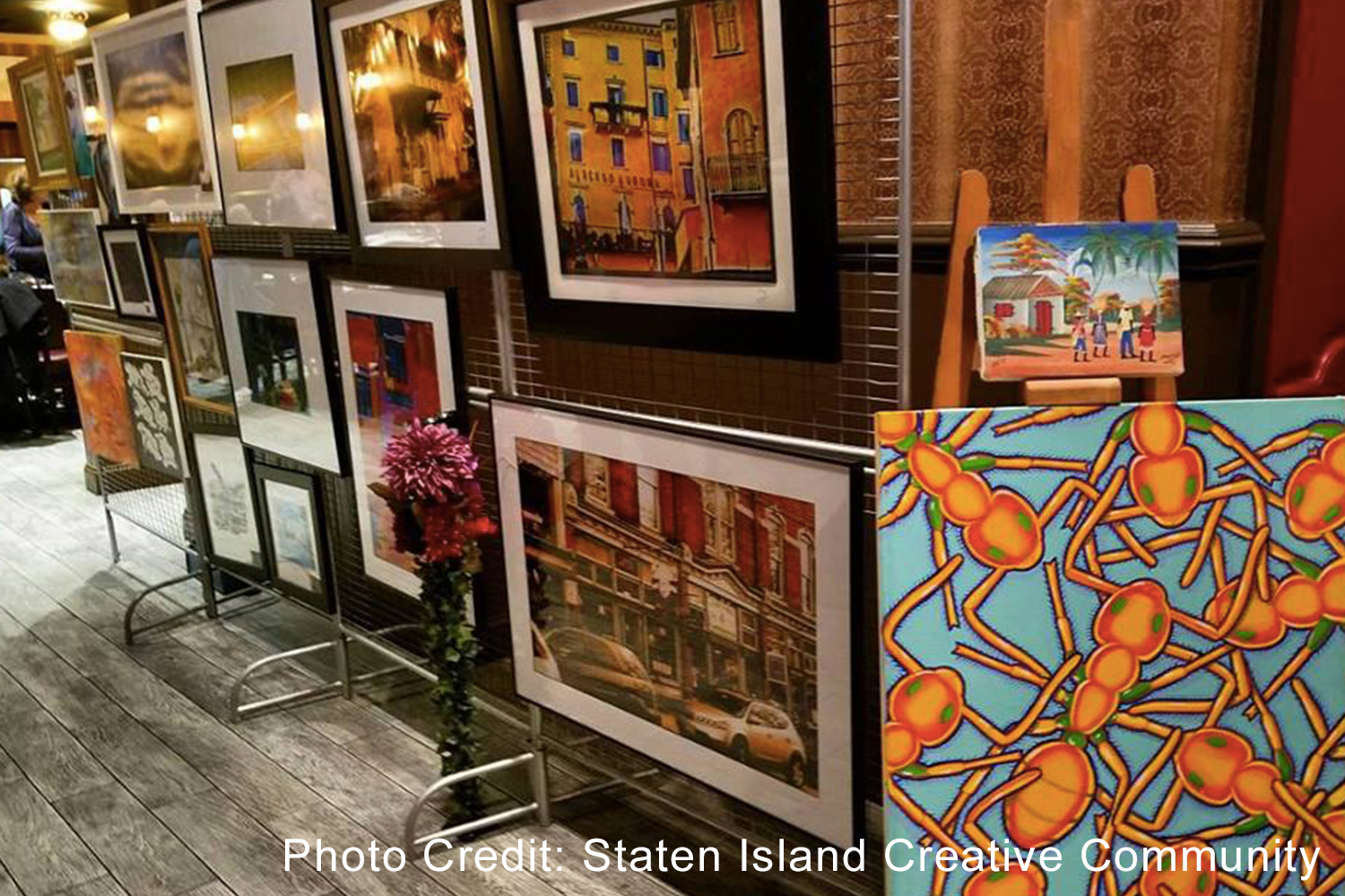 Art on the Terrace - Art on the Terrace is an art gallery of the Staten Island Creative Community, which aims to provide a support vehicle for established and emerging creatives.776 Richmond Terrace, Staten Island, NY 10301sicreative.org