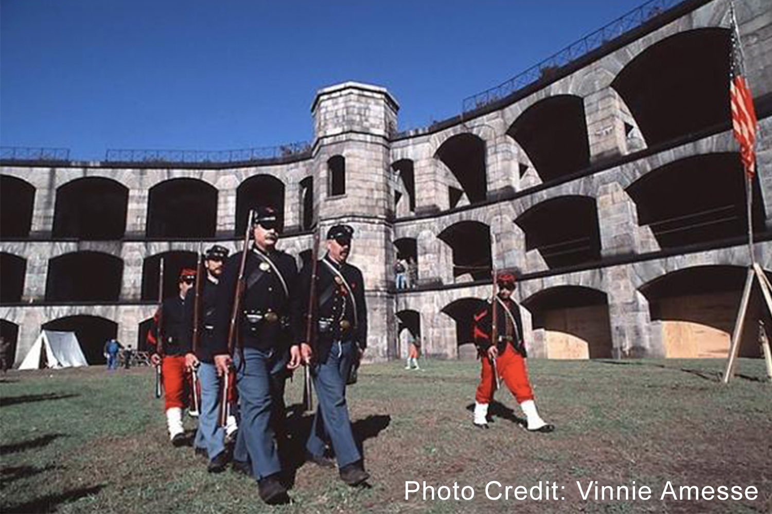 Fort Wadsworth - One of the oldest military forts in the nation, Fort Wadsworth is now a 226-acre public park providing a unique historical experience and beautiful views of New York Harbor.210 New York Avenue, Staten Island, NY 10305nycgo.com/venues/fort-wadsworth-staten-island