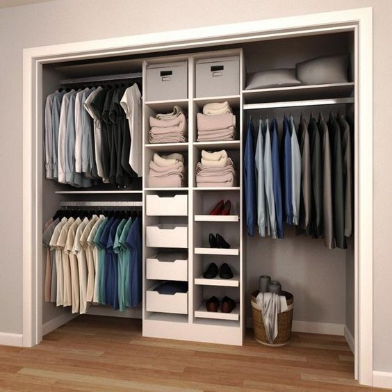 A beautiful way to TRY and keep your wardrobe organised :-)