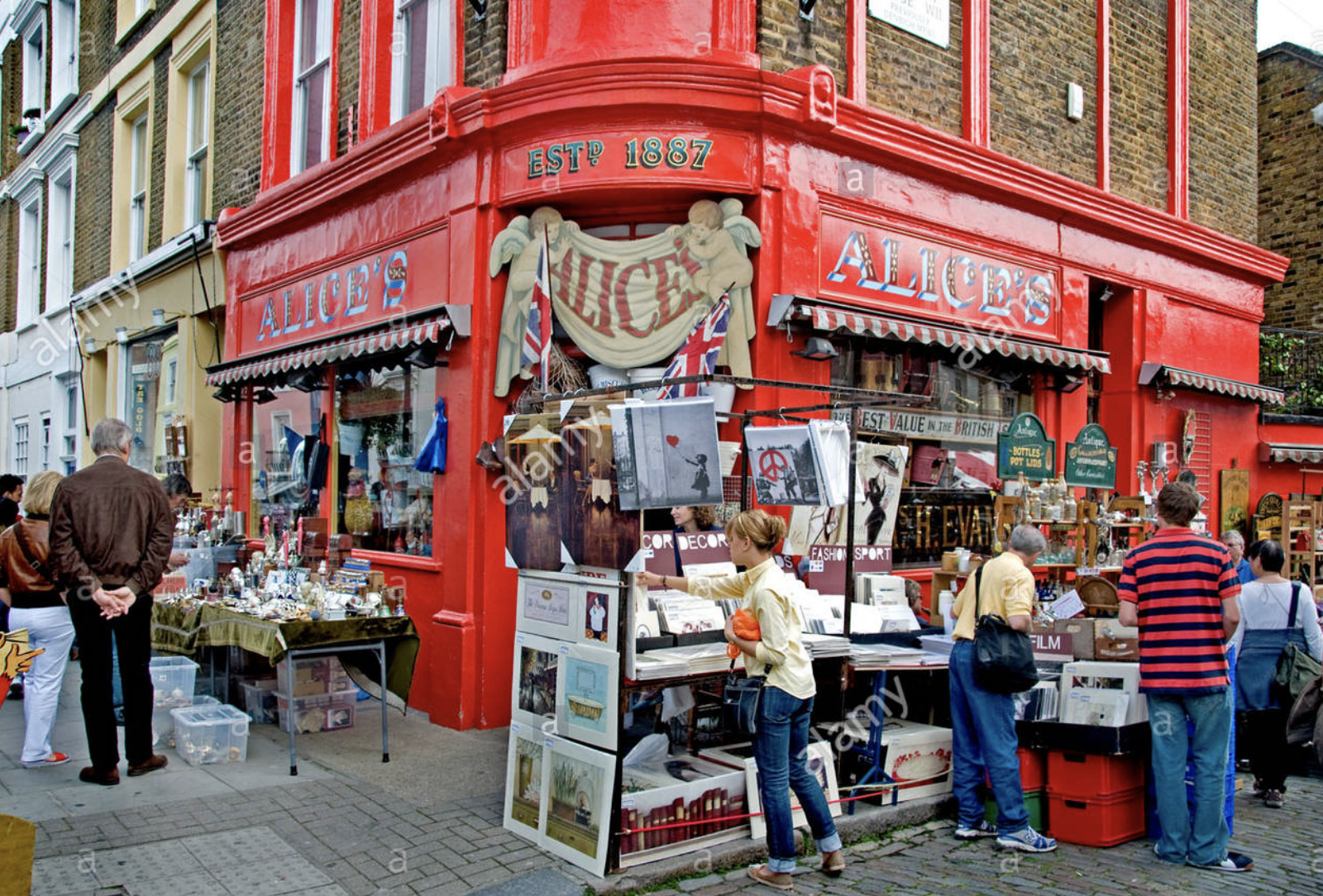 Notting Hill Antiques Market