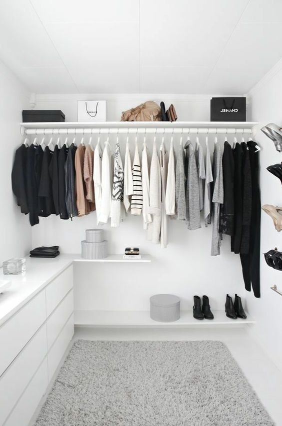Ideas of how to organise your wardrobe