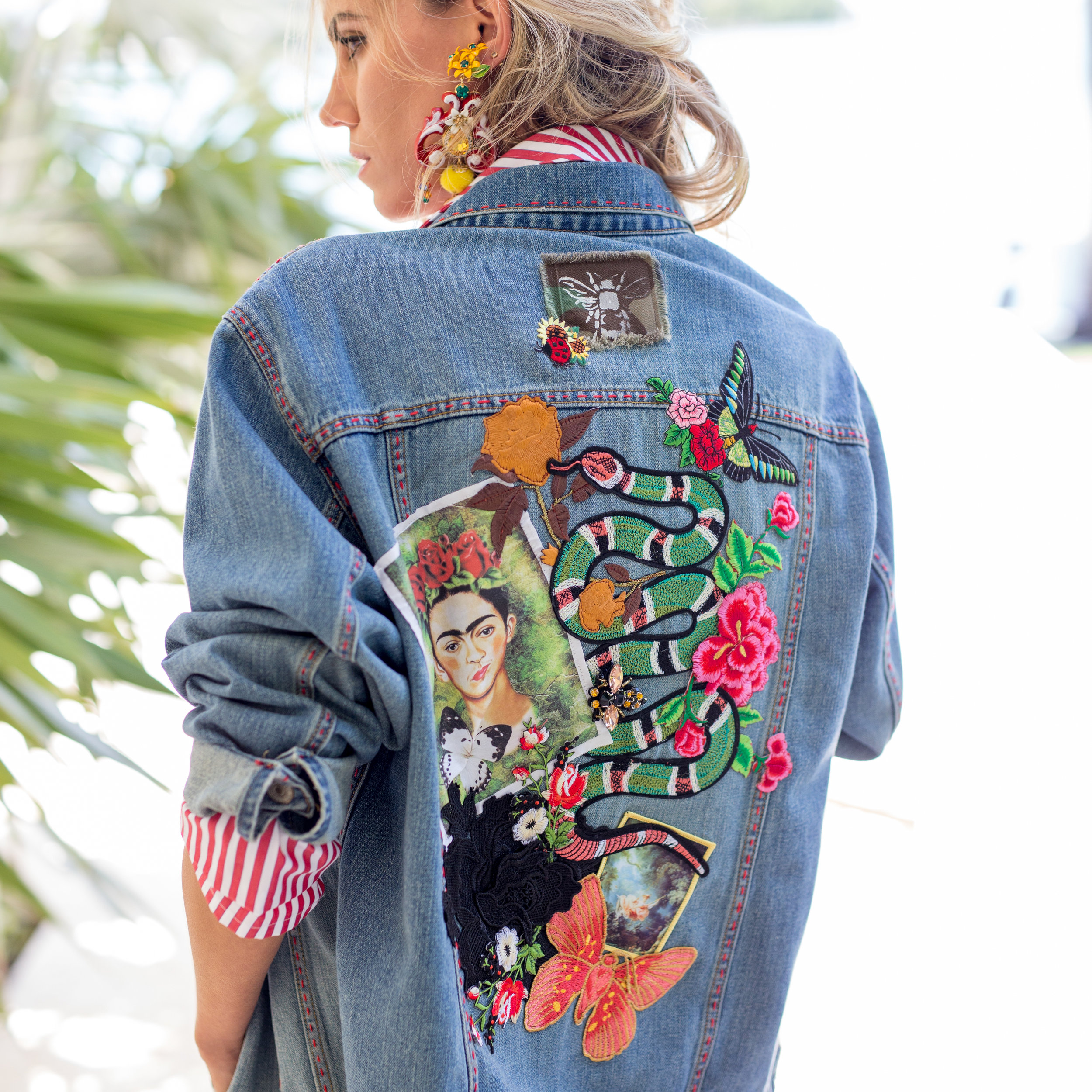 BEE A FRIDA DENIM JACKET