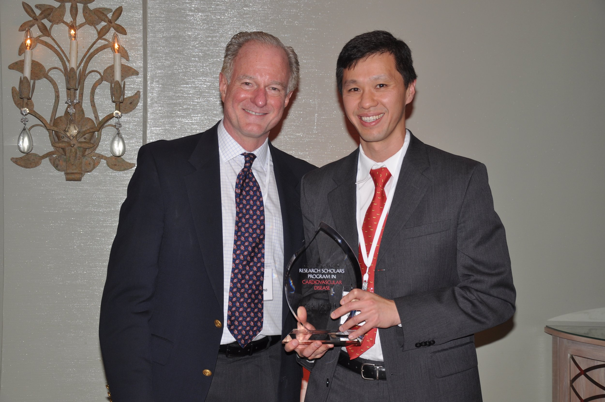November 2016 - James was named a Gilead Sciences Research Scholar in Cardiovascular Diseases