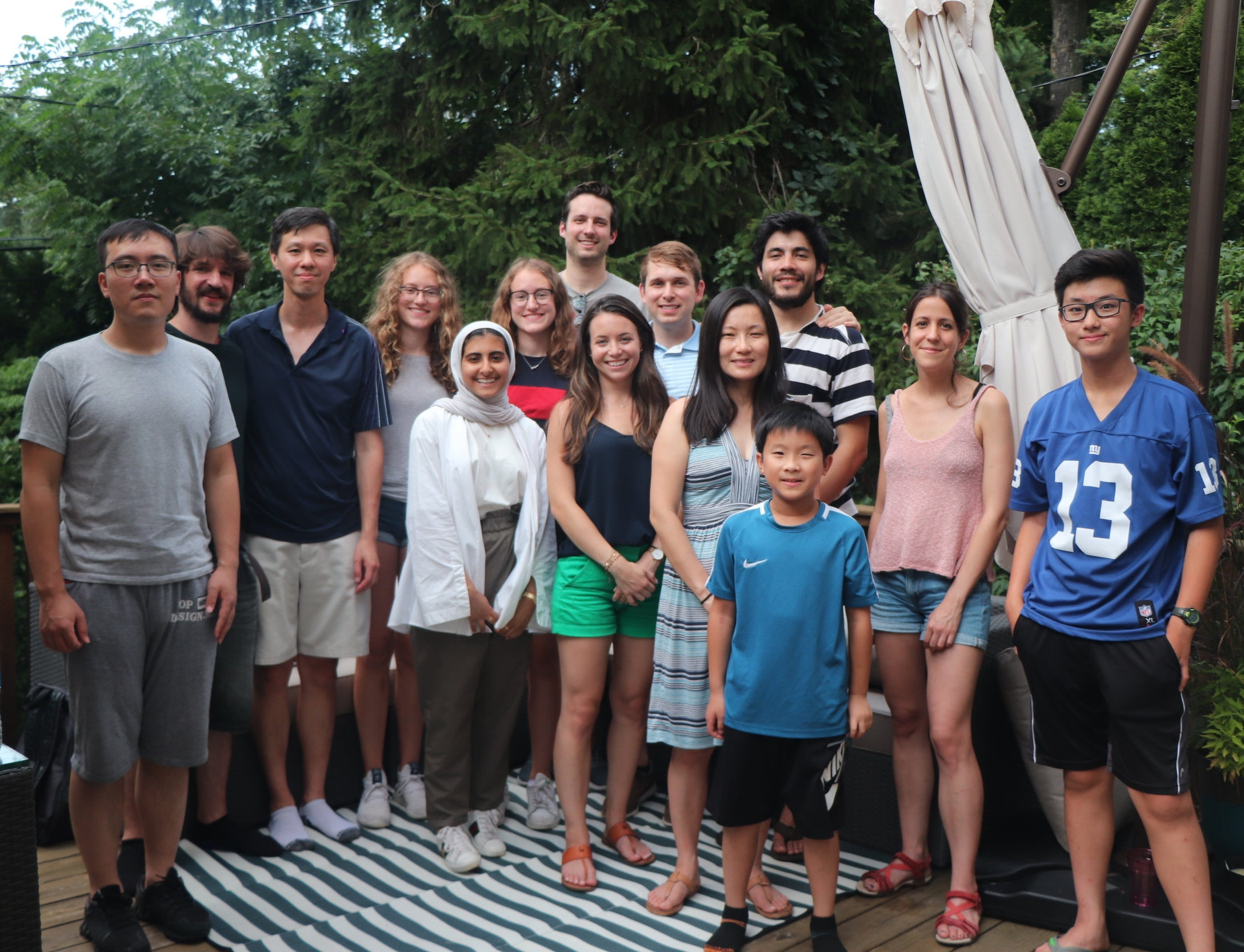 2018 - 2nd Annual Lab BBQ for Lo Lab + family & friends