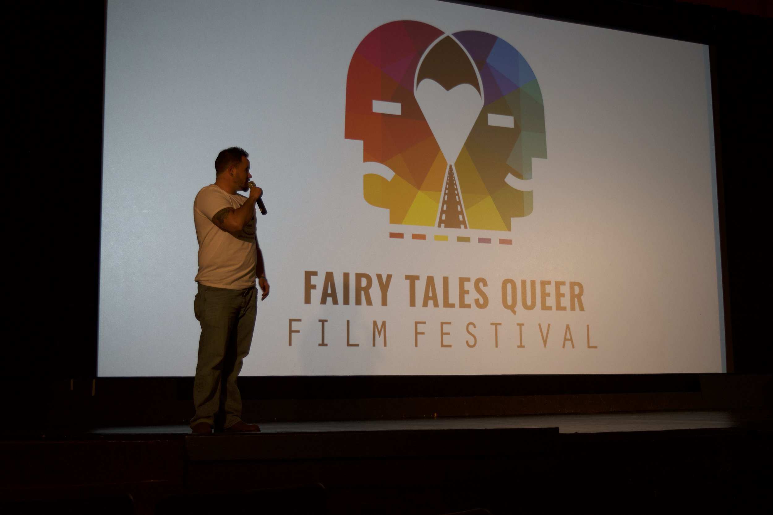 "- ""Sometimes I think there's this assumption that, as LGBT people, once we have rights they are permanent and forever. I think a lot of the films we're looking at in the context of this festival have a more complicated view of what our world is looking like right now.""- James Demers, Executive Director of the Calgary Queer Arts Society and the Fairy Tales programmer"