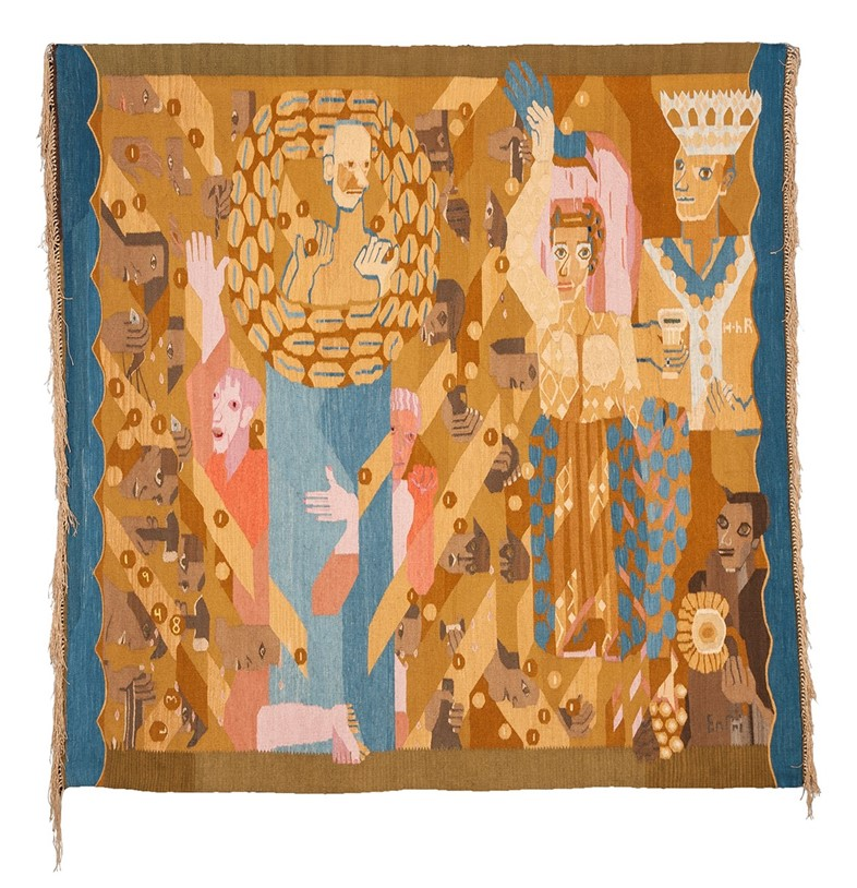 The Politically Searing Modernist Tapestries of Hannah Ryggen - AnOther Magazine