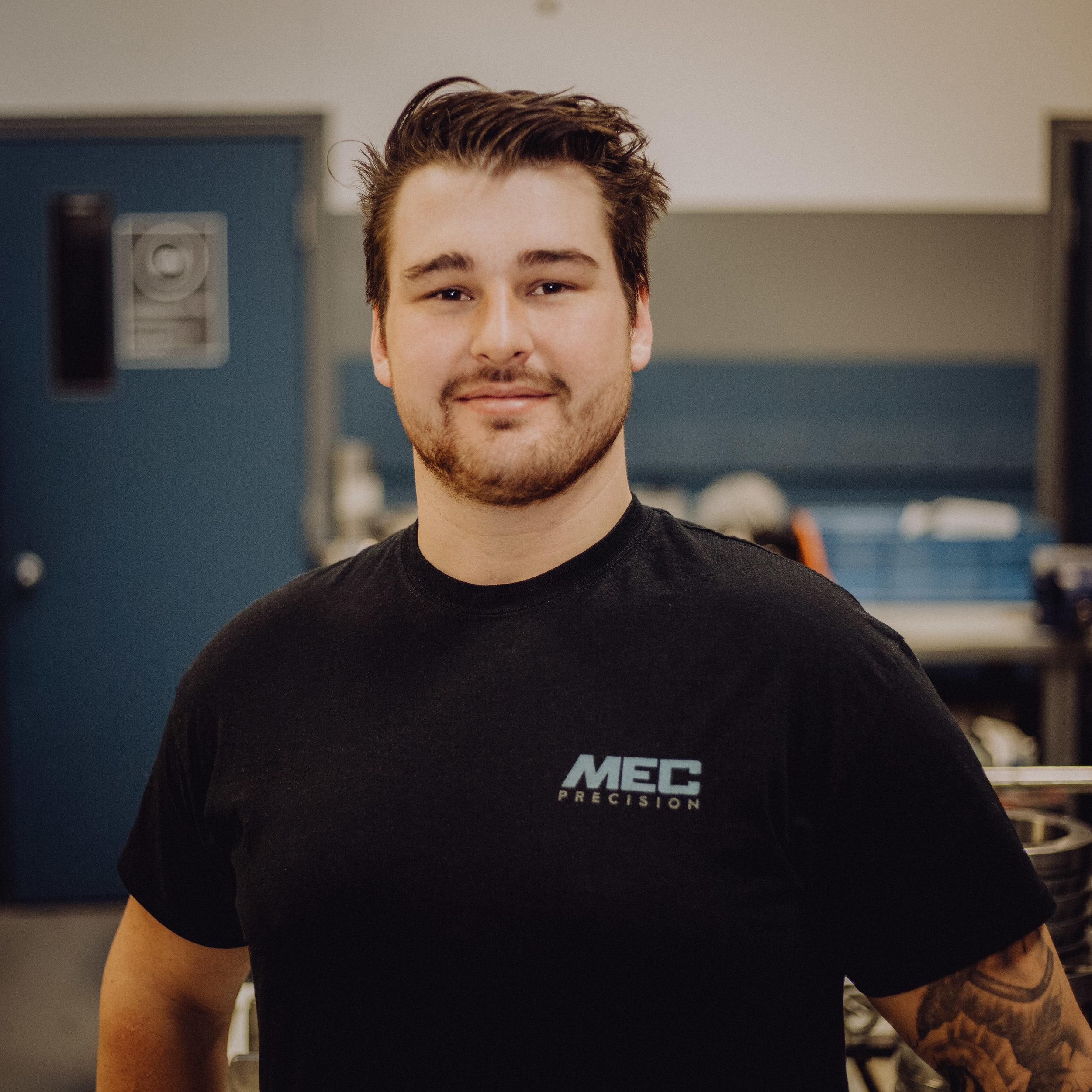 Nicolas Veilleux - CNC Technician