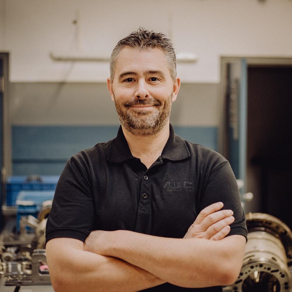 Guillaume Aubon - CNC Technician
