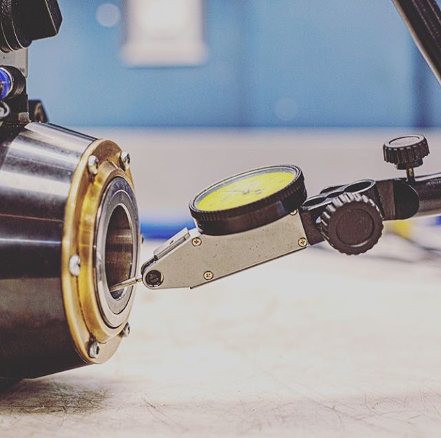 Precision is our business! CNC METAL Working Spindles, CNC WOODWORKING Spindles, Servomotors and AC/DC Motors. #mecprecision #spindlerepair #teamwork