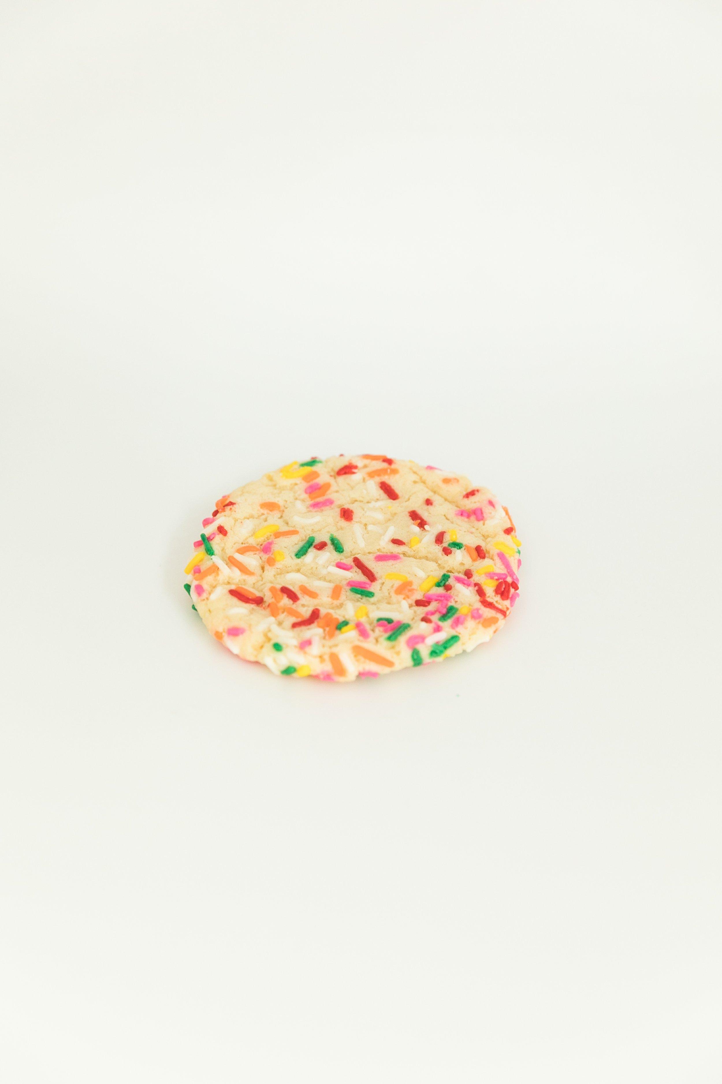 funfetti sprinkle cookie