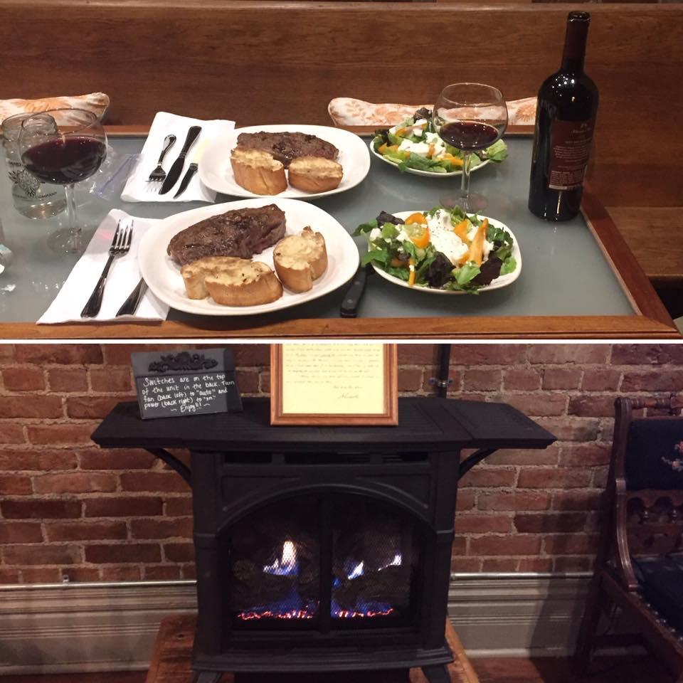 Loft Food and Fireplace.jpg