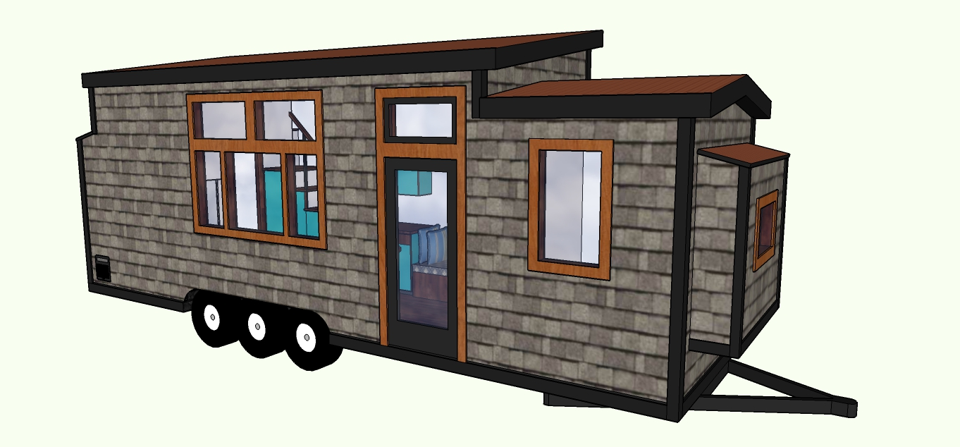 Tiny House Cabin (New 2019)