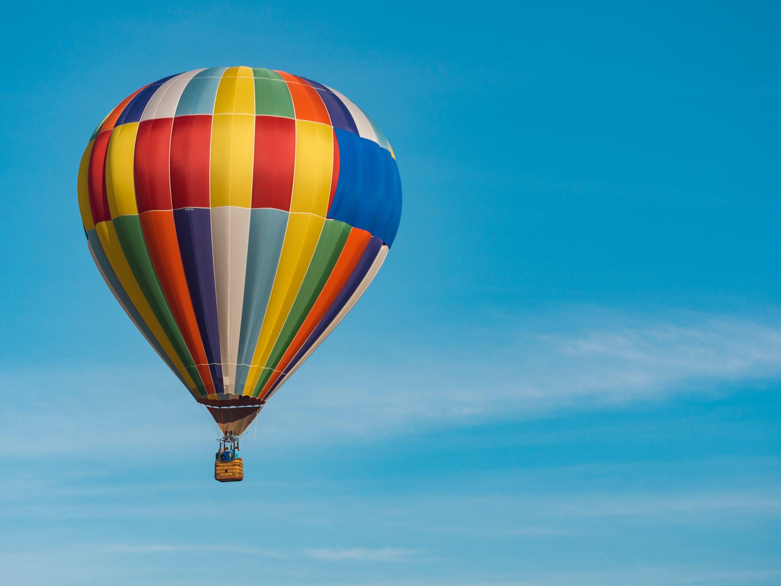 HOt Air Balloon -