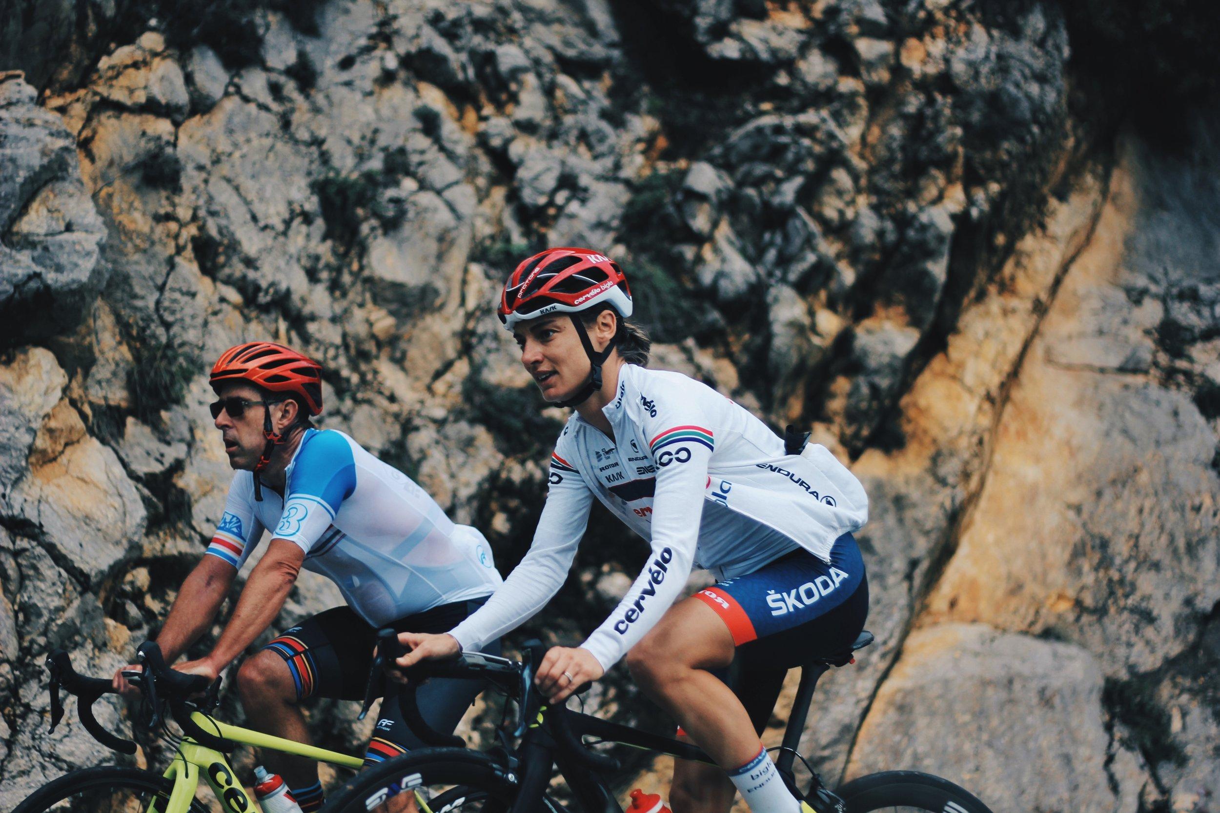 Ashleigh Moolman Pasio Girona Cycle Tour