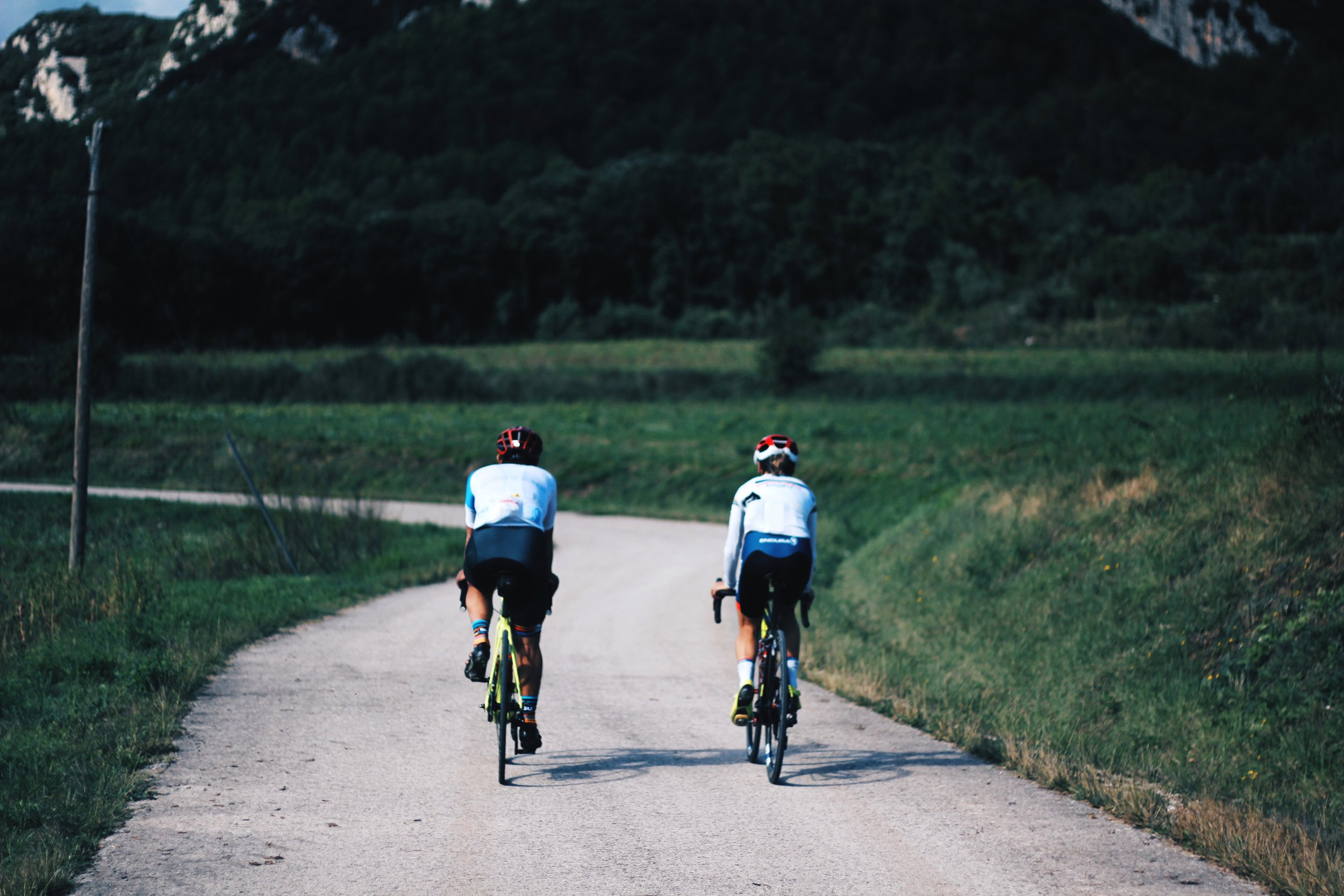 Ride with a a pro cyclist.