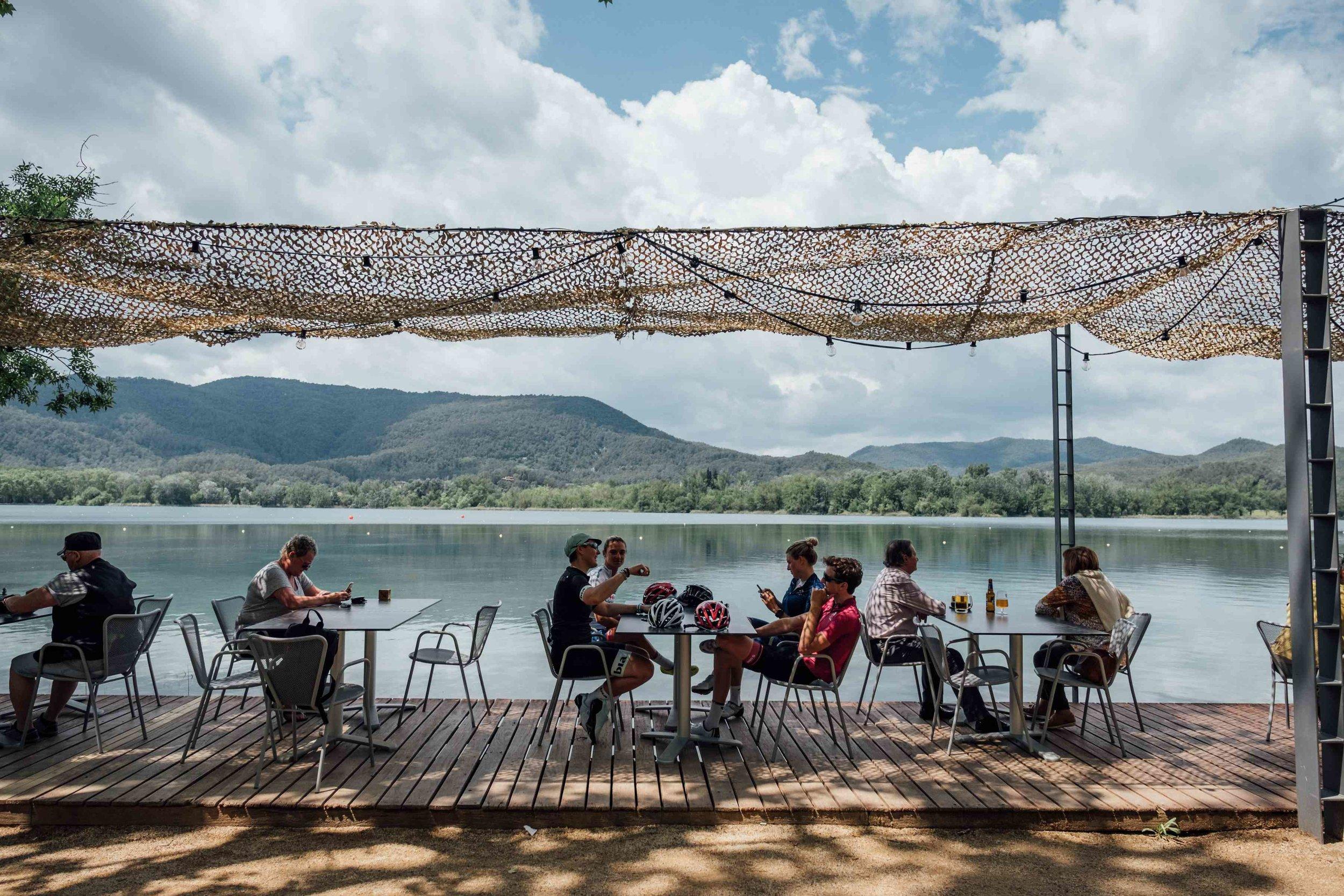 Girona Cycling - Banyoles Coffee Stop