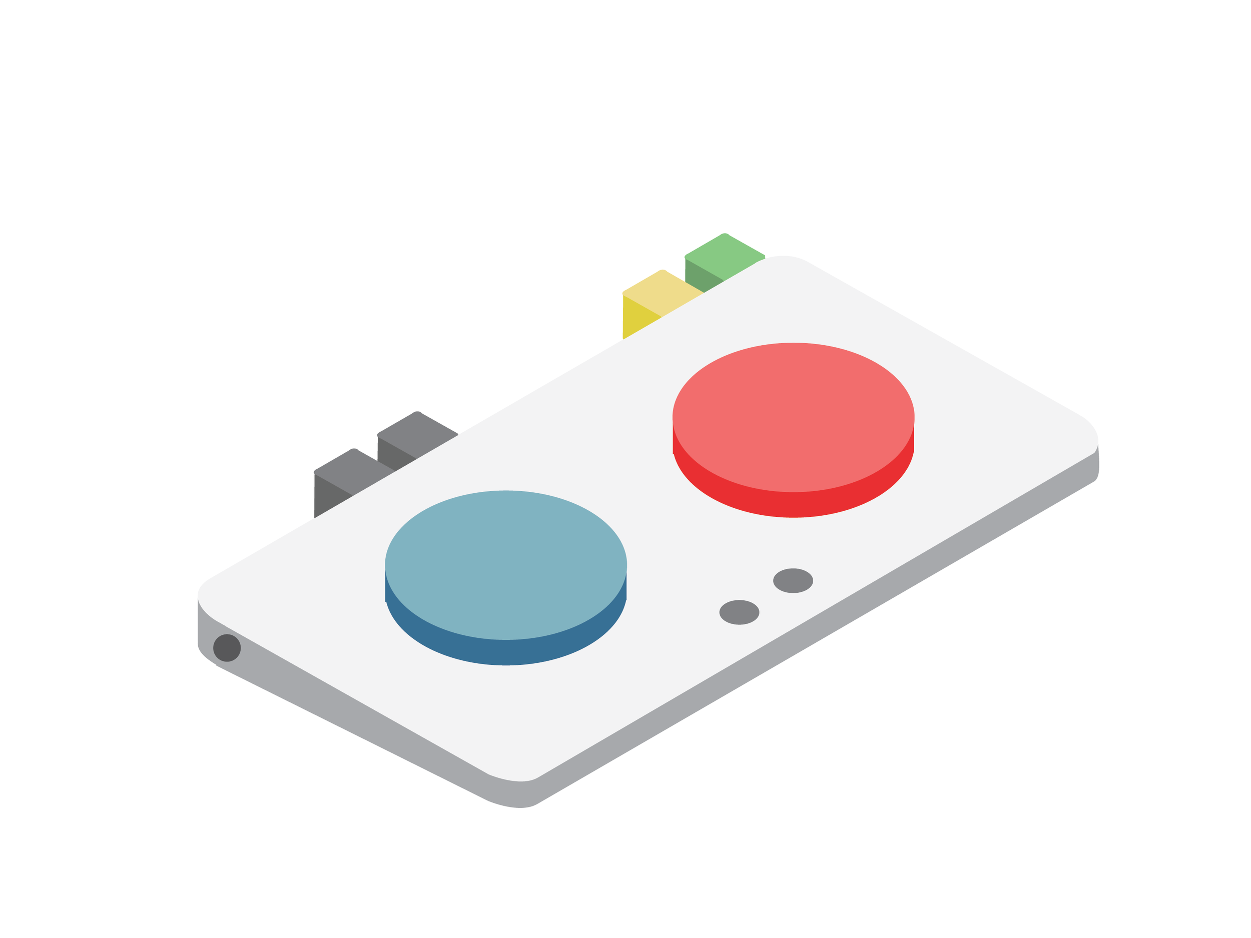 Here is an example of a possible way to physically remap the controller. The Cetra allows the user the ability to play with one hand if needed as well.