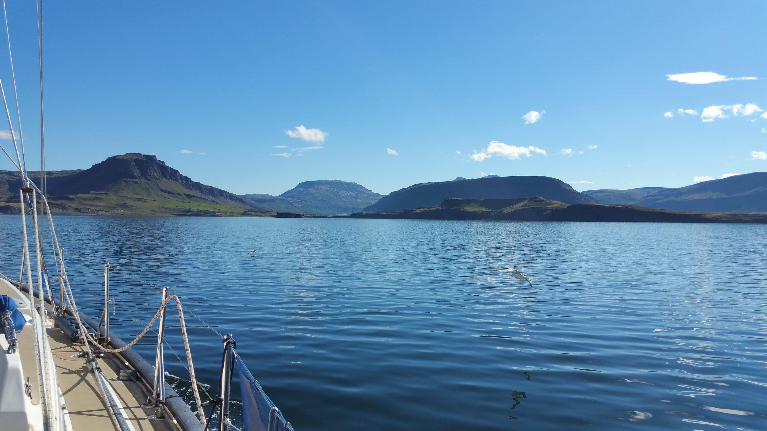 Your idyllic icelandic fjord!
