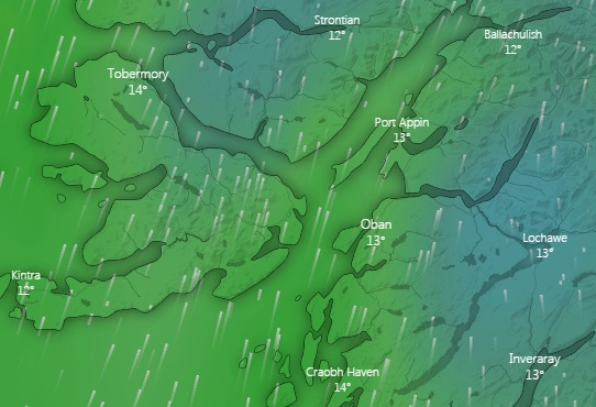 Some nice breeze forecast for Monday 17th