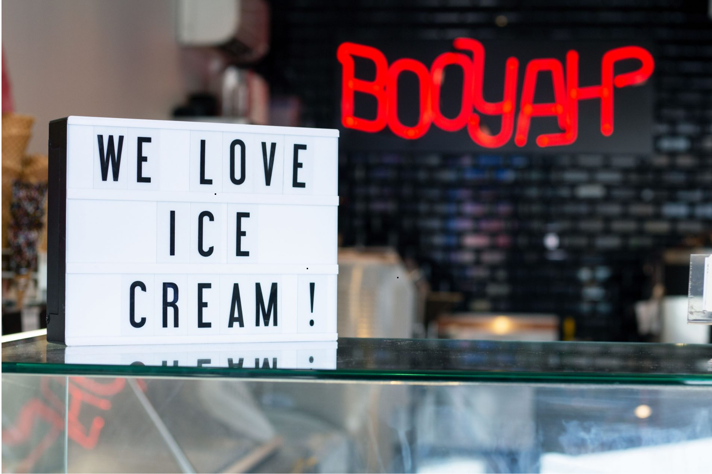 Booyah: A One of a Kind Ice Cream Experience - With our minds full of joy after hearing Booyah's story, and our stomachs full of ice cream, we left Booyah pretty happy. Blair is right—everyone is in a good mood when ice cream is involved.