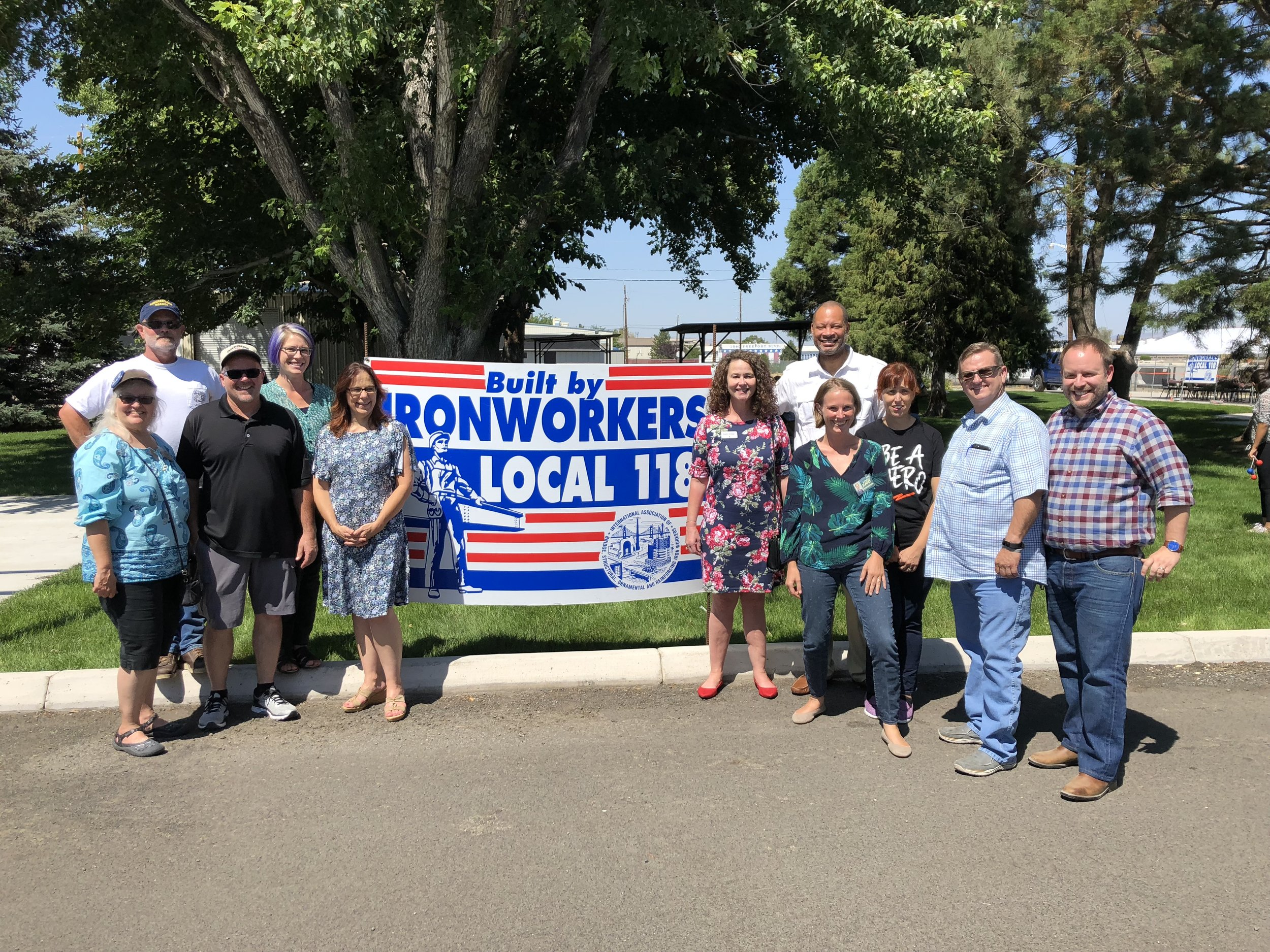 Ironworkers Local 118 Candidate BBQ 1.JPG