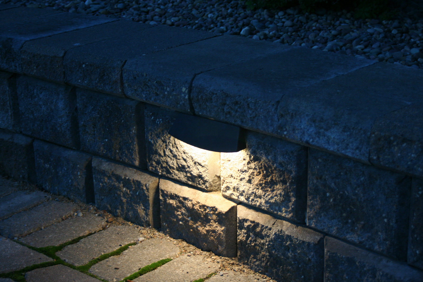 Light up your landscape at night with beautiful accent lights.