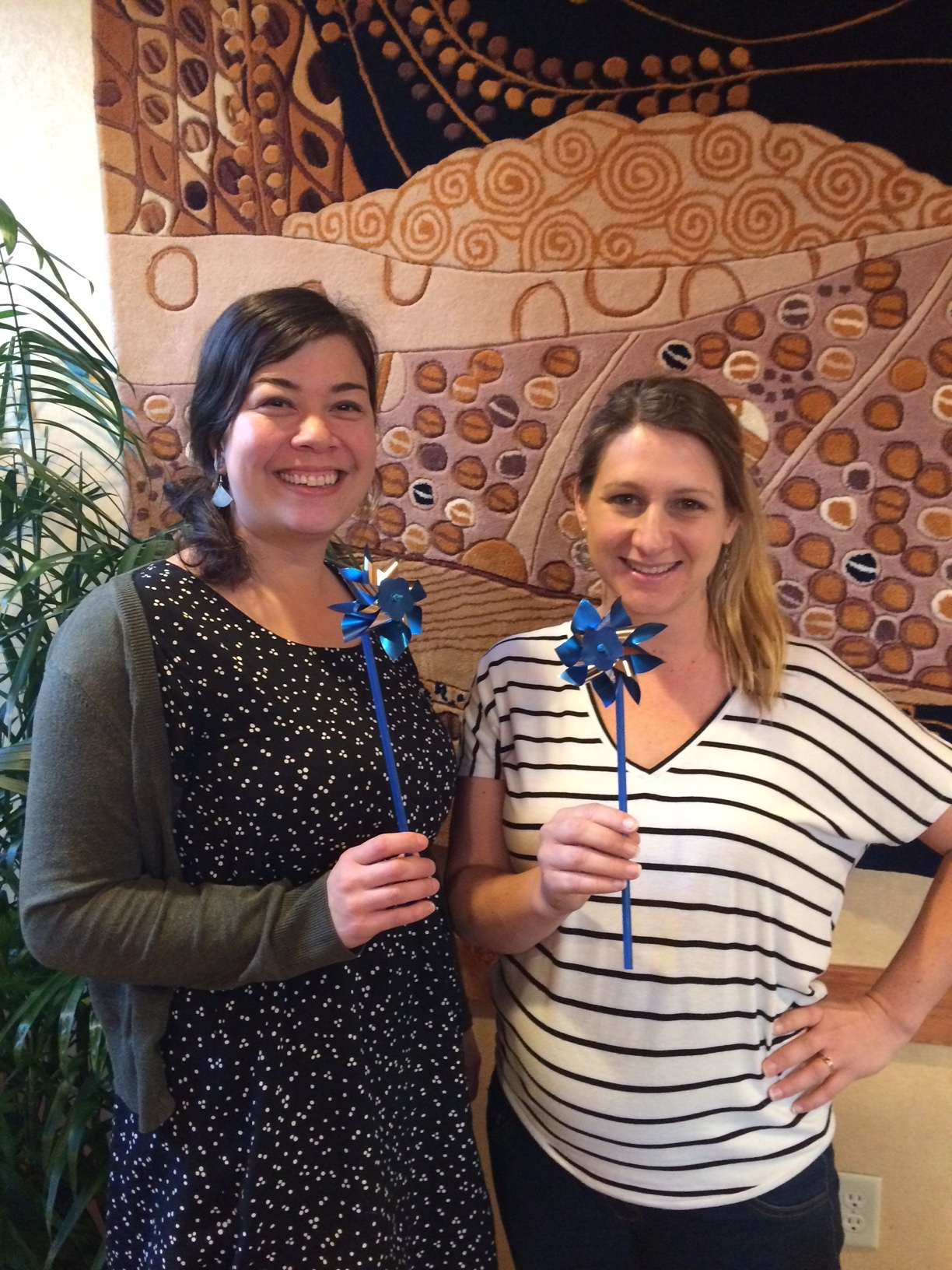 Pinwheels for prevention -